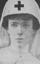 6x4 Gloss Photo ww1C36 World War 1 Red Cross Nurse (Reproduction Print)