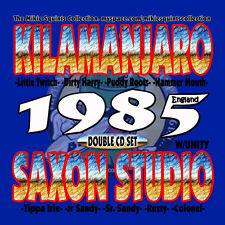 Saxon Sound vs KillaManJaro vs Unity. England 1985. Double CD
