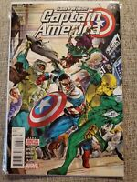 Captain America Sam Wilson #6 2016 1st Full App Joaquin Torres as the Falcon B