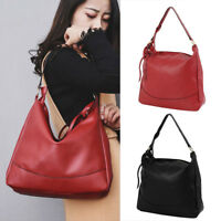 Women Ladies PU  Handbag Shoulder Messenger Crossbody Large Bags Tote