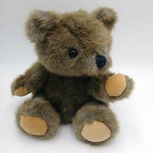 "Dakin Teddy Bear Plush Stuffed Animal Vintage 1988 9.5"" Jointed"