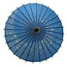 Wagasa - Ombrelle Japonaise / Japanese Umbrella - Sakura Storm (blue)
