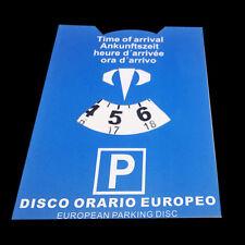 europeo orario cartoncino Disco macchina rigido auto camion camper parcheggio eg