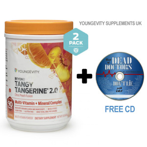 Beyond Tangy Tangerine 2.0 Citrus Peach Fusion 2 Pack FREE 2 DAY DELIVERY!