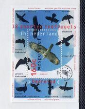 Holanda Fauna Aves Rapaces Hojita del año 1995 (CZ-316)