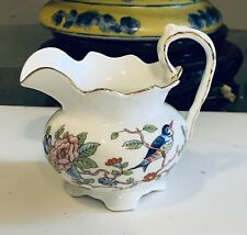 Aynsley Pembroke Bird Footed Creamer Pitcher China