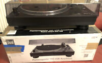 Dual DT250 USB RECORD PLAYER DJ TURNTABLE BOXED