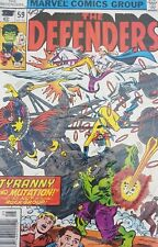 Marvel Comic The Defenders #59 Tyranny And Mutation