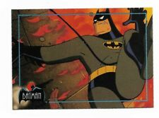 Topps Batman Animated Series cards 1993 complete 100 base set 1992 prototype