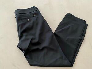 Galvin Green NADINE Ladies Golf Trousers UK12 Black - Pre owned