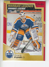 20/21 OPC Edmonton Oilers Grant Fuhr Marquee Legends Red Border card #541