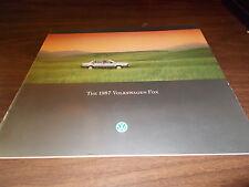 1987 Volkswagen Fox Sales Catalog