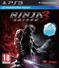 SONY PLAYSTATION 3 PS3 NINJA GAIDEN 3 PAL ITALIANO COMPLETO