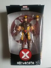 "Marvel Legends X-Men House of X WOLVERINE Logan 6"" Figure BAF Tri-Sentinel Read"