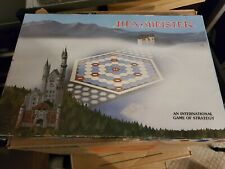 Hex-Meister - - - VINTAGE STRATEGIC BOARD GAME - Exc Condition