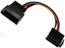 Connecteur rallonge mâle femelle fiche ISO 8PIN pour autoradio précâblé faisceau