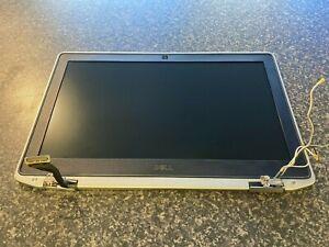 "Dell E6320 13.3"" Screen Complete Surround Lid Bezel Plastic Webcam Hinges"