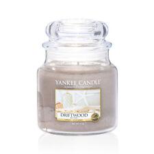 YANKEE CANDLE candela profumata giara media Driftwood durata 90 ore