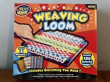 Used Color Zone Weaving Loom Create 3 Projects Includes some Colorful Loop 6+