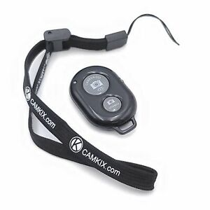 Camkix Bluetooth Camera Shutter Remote Control with Wrist Strap for Android iOS
