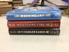 The Hunger Games By Suzanne Collins! Complete Hardback Set! Popular YA Series!