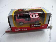 Renegade Jeep Model by Burago BNIB