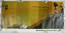 NITF! Vintage NIKE Poster Mr. John McEnroe's Back In Town Wimbledon Room Service