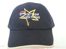 Vietnam Chien Thang Pepsi Victory Navy Blue Ball Cap Hat
