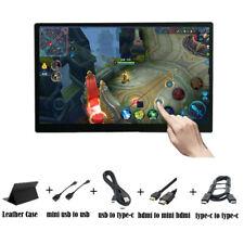 15.6 inch IPS 1920x1080 Ultra USB-C Type-C Touchscreen Portable Monitor Display