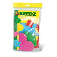 SES CREATIVE Children's Beedz Iron-on Beads Pegboards Mosaic Set, 5 Pieces