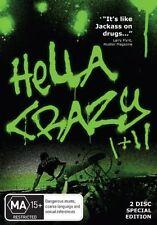 Hella Crazy I + II (DVD, 2008, 2-Disc Set)