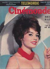 Cinémonde N° 1297/1959 - Pascale Petit B.B. Julie la Rousse Molinaro Vespa 400