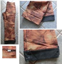 LUHTA  Jeans HOSE braun NP: 99 € Gr.L 42  44  40  7/8 Buntweite: ca 42 cm 2 in 1