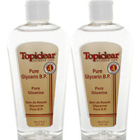 2 Pack Topiclear Pure Glycerin Skin Moisturizer Glicerina Pura Hidratante Piel
