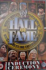 WWE Hall of Fame 2004 2 DVDs original WWF wrestling