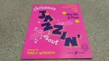 "Jazzin About "" Christmas "" For Alo Saxophone & Piano 1995 Song Book"