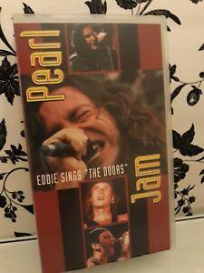 Vhs Pearl Jam- Eddie sings The Doors