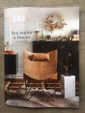 CB2 BOUTIQUEY & BRIGHT HOLIDAY 2017 FURNITURE ACCESSORIES CATALOG LOOK BOOK