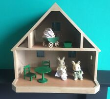 Vintage Sylvanian families House And Family