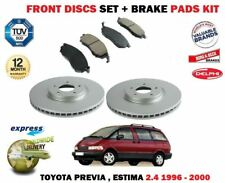 DISC PADS SET FOR TOYOTA PREVIA 2.0DT D4D 4//2003-6//2007 FRONT BRAKE DISCS