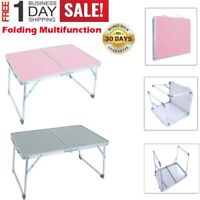 Aluminum Folding Table Portable Indoor Outdoor Picnic Party Camping Tables HOT