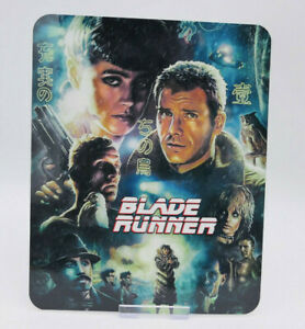 BLADE RUNNER harrison ford - Glossy Bluray Steelbook Magnet Cover NOT LENTICULAR
