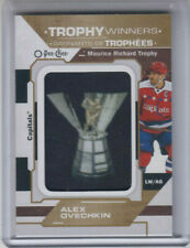20/21 OPC Washington Capitals Alex Ovechkin Trophy Winners Patch card #P-26