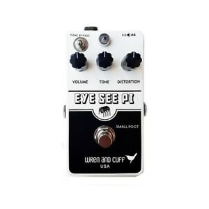Wren and Cuff Eye See Pi Small Foot Muff-Style Fuzz Guitar Effect Pedal Stompbox