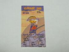 April 10, 1998 LA Lakers vs Phonix Suns TICKET STUB