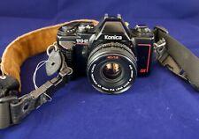 Konica TC-X DX Film SLR Camera w/ Hexanon AR 40mm F1.8 Lens & Strap - Japan