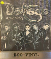 "DAMAGE -ANYTHING PROMO VINYL HIP HOP 12""VINYL RECORD EX CON"