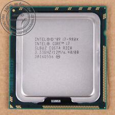 Intel Core i7-980X i7 980X - 3.33 GHz (BX80613I7980X) LGA1366 SLBUZ CPU 6.4 GT/s