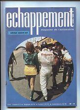 revue ECHAPPEMENT n°8 avril 1969  editions centre-est / HONDA S 800....