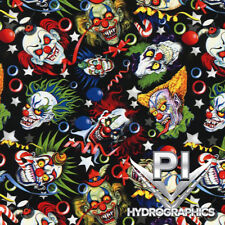 Hydrographic Film Hydro Dipping Water Transfer Printing Film Crazy Clowns DD945